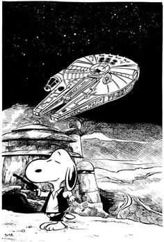 'Snoopy Solo', Star Wars and the Peanuts Gang.