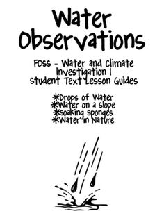FOSS/AMSTI 3rd grade Structures of Life Study Guides