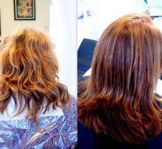 Kolor i regeneracja. #hairstyle #fryzury