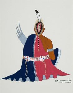 Osage Peyote Man by Carlton Delmar Woodring kp Native American Church, Native American Artwork, Native American Artists, American Indian Art, Osage Indians, Osage Nation, Modern Indian Art, Sacred Plant, American Spirit