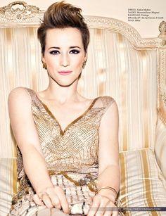Short hairstyles - Karine Vanasse
