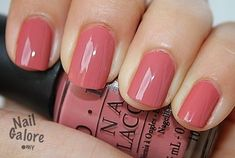 OPI java mauve from the classic collection. it is a warm pink brown color, quite. OPI java mauve f Shellac Manicure, Opi Nails, Manicure And Pedicure, Mauve Nails, Opi Pink, Nagel Gel, Fabulous Nails, Nail Polish Colors, Opi Nail Polish
