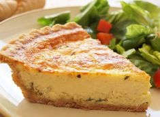 Leek & Parmesan quiche TESTED & PERFECTED RECIPE – In this quiche, the leeks impart sweet onion flavor, while the cheese and heavy cream make the custard wonderfully rich. Quiche Recipes, Egg Recipes, Cooking Recipes, Vegetarian Recipes, Chef Recipes, Souffle Recipes, Yummy Recipes, Yummy Food, Healthy Recipes