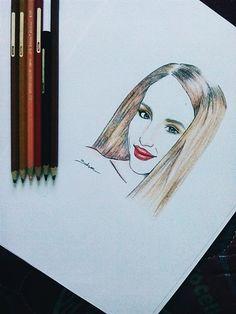 Cinta laura kiehl #girl #sketch