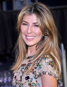 Nina Garcia. Love the hair clut