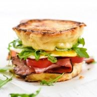 Permalink to: Ham and Smoked Gouda Grilled Cheese Breakfast Sandwich