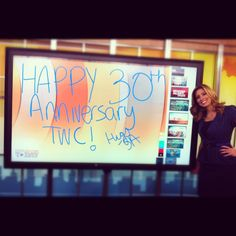 Stephanie Abrams celebrates #30yearsofTWC