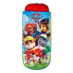 Paw Patrol Junior Ready Bed Kids Camping Sleeping Bag Sleepover Blue for sale online Camping Mattress, Air Mattress, Paw Patrol, Toddler Sleeping Bag, Sleeping Bags, Ready Bed, Duvet, Bedding, Inflatable Bed