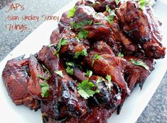 JAP's Asian Smokey Honey Wings #sweet #wings #smoke #heat #justapinchrecipes