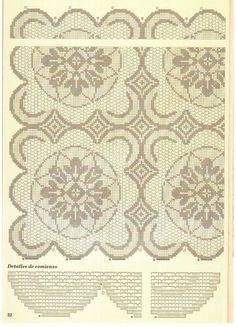 View album on Yandex. Filet Crochet Charts, Views Album, Doilies, Elsa, Vintage World Maps, Pattern, Crotchet, Yandex Disk, Crochet Curtains