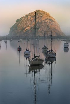 Love Morro Bay, CA. It's like a small fishing village. So cozy and friendly.