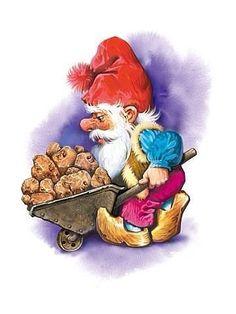 Hardworking gnome...