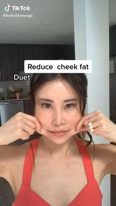 Fat Face Exercises, Facial Exercises, Full Body Gym Workout, Gym Workout Tips, Workouts, Reduce Face Fat, Cheek Fat, Facial Yoga, Gym Workout For Beginners
