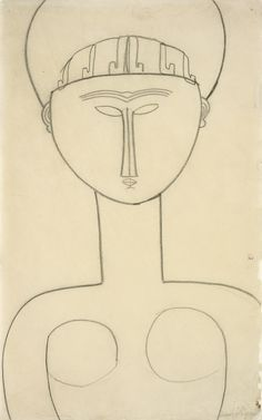 """amospoe: """"""""As to me, I know of nothing but miracles."""" ― Walt Whitman (drawing: amedeo modigliani) """""""