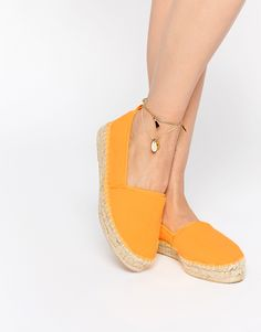 Image 1 of ASOS JELLY BEAN Towelling Espadrilles