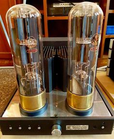 KR Audio Kronzilla 680 power amp with their huge T1610 tubes