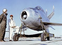 """The McDonnell XF-85 Goblin is touted as the world's smallest fighter jet, measuring only 14.8-feet long. It was first introduced by the US Air Force in 1948 and designed specifically to fit inside the bays of larger bomber aircraft. The Goblin was scheduled to be part of the """"parasite jet fighter program"""", so it wasn't fitted with landing gear, but instead, used a trapeze dock system."""