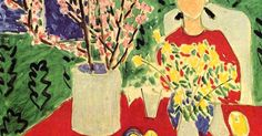 Henri Matisse. (1948) | Henri Matisse | Pinterest | Henri Matisse, Green Backgrounds and Blossoms