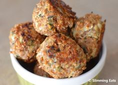 Bulgur Wheat, Sage & Onion Stuffing Balls--meatball substitute for my squash noodle spaghetti. Healthy Eating Recipes, Vegetarian Recipes, Cooking Recipes, Slimming Eats, Slimming World Recipes, A Saucerful Of Secrets, Sage And Onion Stuffing, Bulgur Recipes, Bulgar Wheat
