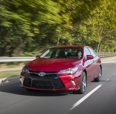 All-New Sportier 2015 Toyota Camry Sheds the Buttoned-down Stigma. We head to Charlotte, North Carolina to test Toyota's all-new sedan.