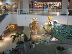 Esculturas en Plaza las Américas