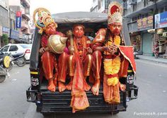 Deities need to get places too... Only in #India