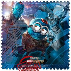 Guardians of the Galaxy Minions ~ Yondu