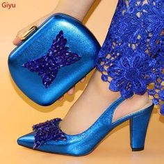 Women Shoes And Bag Set Italian Shoes with Matching Bags Set Spring Step Shoes, Bridal Heels, Pump Types, Free Online Shopping, Italian Shoes, Turban Style, Green Shoes, Shoe Brands, Traditional Outfits