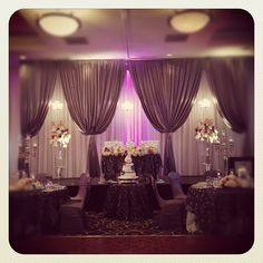 Wedding Head Table Backdrops   Save on your event decor. - UNIQUEK FUNCTIONS