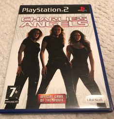 Only £1.74!! Charlie's Angels (Sony PlayStation 2, 2004) Fast Free Postage