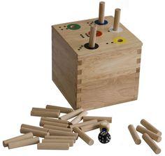 Riesen Ab in die Box Würfelspiel Geschenkidee Kindergeburtstag