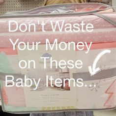 """When we had our first baby, we took that register gun and went crazy! We thought we needed to have all the sheet sets and every gizmo and gadget out there. After all, every store and magazine will tell you a million must have items that you need for your baby. Your head will be … Continue reading """"Don't Waste Your Money on These Baby Items"""""""