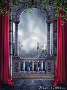 "Wall Mural ""blue, gothic, rose - gotycki balkon z zasłonami i świecami"" ✓ Easy Installation ✓ 365 Day Money Back Guarantee ✓ Browse other patterns from this collection! Desktop Background Pictures, Banner Background Images, Studio Background Images, Fantasy Background, Picsart Background, Birthday Background Design, Wedding Photo Background, Photography Studio Background, Photography Backdrops"