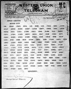 an overview of the zimmerman telegram in world war one Zimmermann telegram facts for kids - president woodrow wilson video the article on the zimmermann telegram provides detailed facts and a summary of one of the.