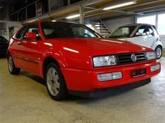 2000 VW Corrado 16V, Category: Coupe, Type of vehicle: Used car, Color: Red, Interior grau, Doors: 3 Seats: 4 # 3
