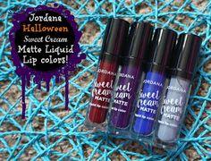 Jordana Halloween Sweet Cream Liquid Lip Colors