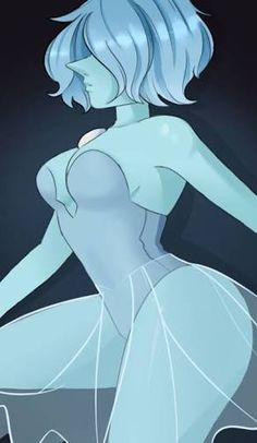 Blue Diamond Steven Universe, Perla Steven Universe, Steven Universe Wallpaper, Pearl Steven, Penny Dreadful, Universe Art, Blue Pearl, Star Vs The Forces Of Evil, Kawaii