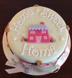 New home cake!