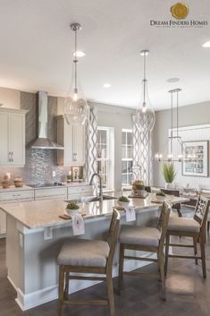 Looking for a home in Orlando? Kitchen Ideas, Kitchen Decor, Kitchen Design, Modern Farmhouse Design, Farmhouse Decor, New Home Construction, Custom Kitchens, Interior Decorating, Interior Design