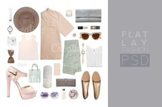 Fashion Set outfits (251) by Trefilova Anna on @creativemarket