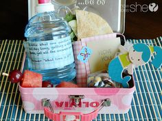 Lunch Box Heroes: 8 Cute Lunch Ideas. Includes healthy snacks, fun shaped sandwiches, jokes, new ways to make a sandwich, funny fruit, kabobs, and love notes... | HowDoesShe.com