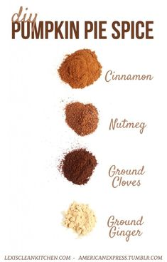 Pumpkin Pie Spice is ubiquitous come the fall, and we're not sad about it! Especially because it's so easy to make your own DIY Pumpkin Pie Spice recipe. Best Pumpkin Pie Recipe, Easy Pumpkin Pie, Vegan Pumpkin Pie, Pumpkin Spice Coffee, Pumpkin Recipes, What Is Pumpkin Spice, Fall Recipes, Homemade Spices, Homemade Seasonings