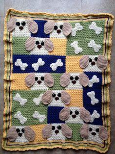 Ravelry: nabiskit's & dogs blanket