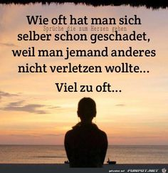-Jetzt ist Schluss damit … Now that& the end of it … - Words Quotes, Life Quotes, Sayings, German Quotes, Relationship Texts, Susa, Love Hurts, My Mood, True Words