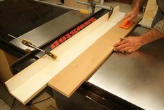 Using Your Table Saw as a Jointer