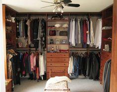 Walk In Closet Traditional Closet