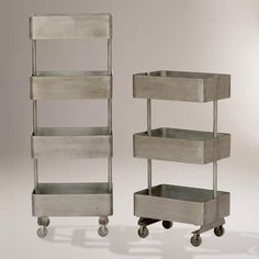 metal shelf units