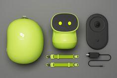 beanq smart robot story by zheng Michael at Coroflot.com