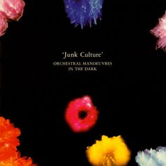 OMD - Junk Culture  Designed by Peter Saville