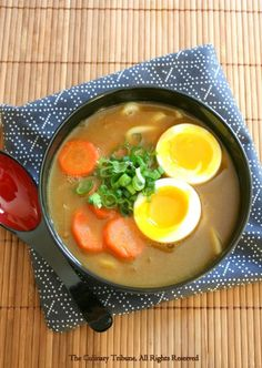The Culinary Tribune › Curry Udon Noodle Soup